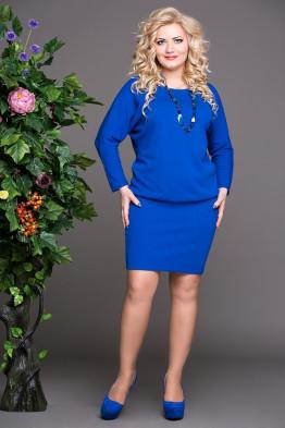 Платье Мадонна (василек)