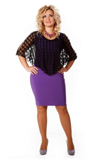 Платье Марго (фиолет)