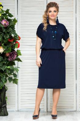 Платье Сильвия (синий)