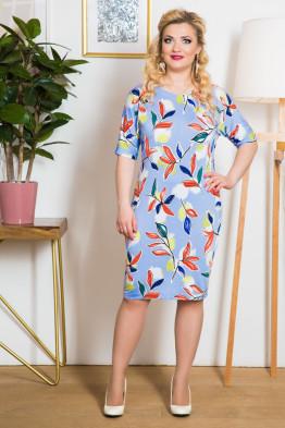 Платье Жасмин (небесный)