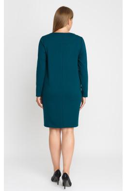 Платье 23352112 (бирюза)