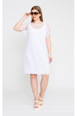 Платье 5273 белый