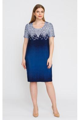 Платье 5295 (синий)