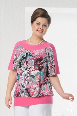 Блузка Марина (розовый)