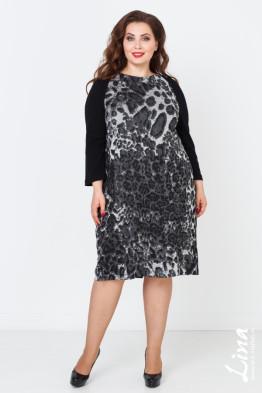Платье Рената (черный)