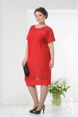Платье Монреаль (красный)