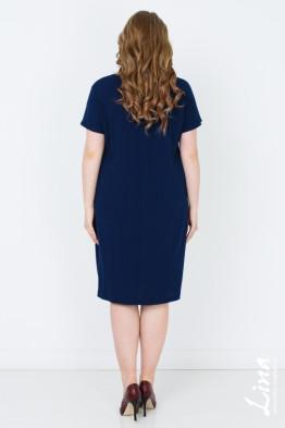 Платье Ницца (синий темный)