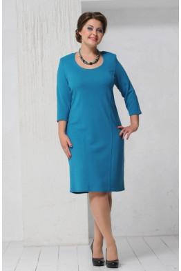 Платье Шанель 2 (бирюза)