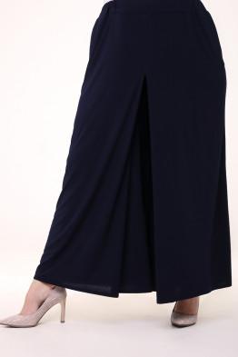 Юбка брюки Карусель (темно-синий)