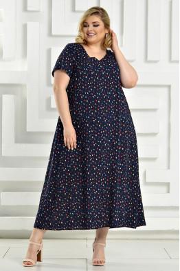 Платье Афина (темно синий)