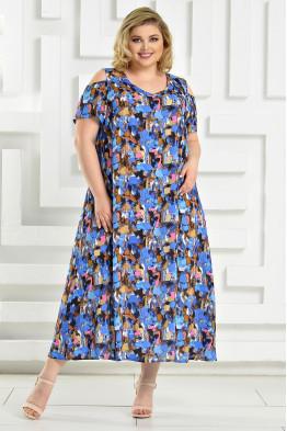 Платье Афина 2 (голубой)
