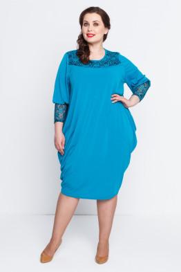Платье Алана (бирюза)
