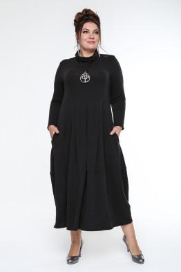 Платье Ангорка (черный)