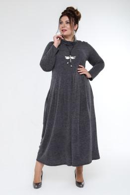 Платье Ангорка (серый)
