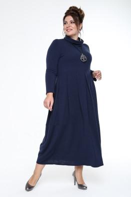 Платье Ангорка (синий)