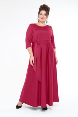 Платье Изумруд (красный)