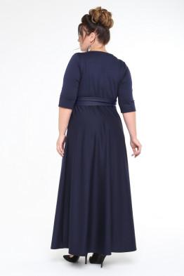 Платье Изумруд (синий)