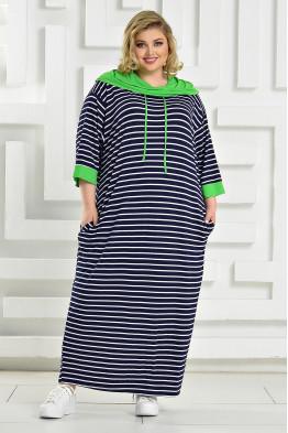 Платье Круиз (зеленый)