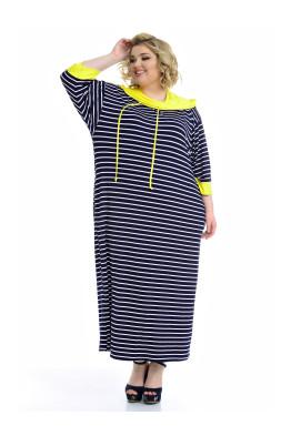 Платье Круиз (желтый)