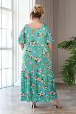 Платье Лилия (мята)