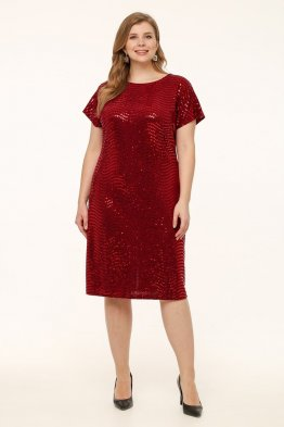 Платье Маркиза (бордо)