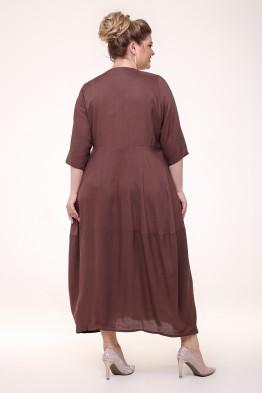 Платье Неаполь (шоколад)