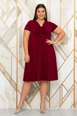 Платье Саманта (бордо)