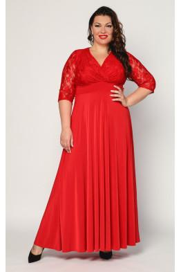Платье Вернисаж (красный)