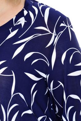 Туника Камелия Масло (синий/белый)