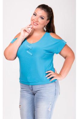 Блузка Ива (голубой)