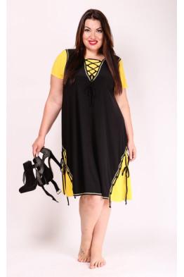 Платье Агния (желтый)