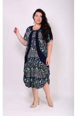 Платье Алевтина (бирюза)