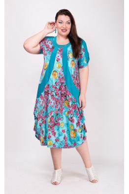 Платье Алевтина (голубой)