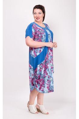 Платье Алевтина (синий)