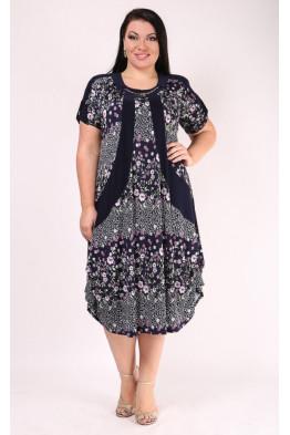 Платье Алевтина (сирень)