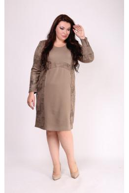 Платье Ария (бежевый)