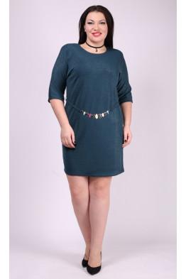 Платье-туника Элис (бирюза)