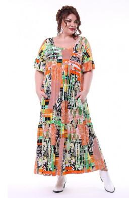 Платье Лилия (мульти)