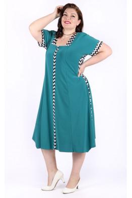 Платье Верена (зеленый)