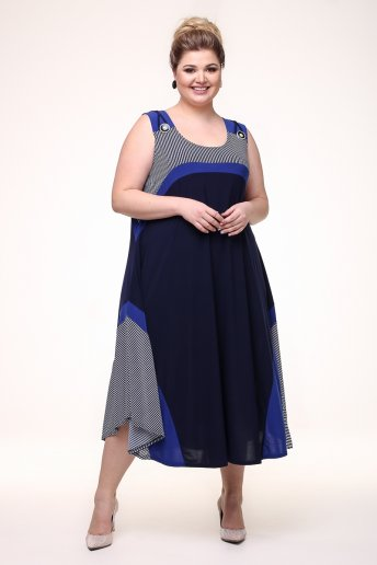 Платье Сарафан Для Полных Фото