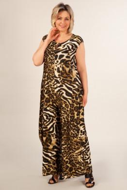 Комбинезон Магия (леопард/хаки)