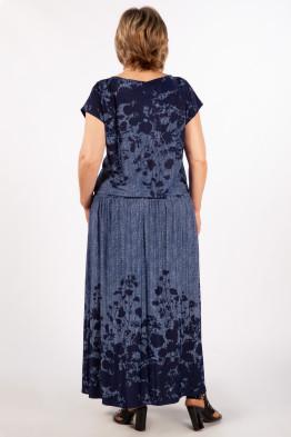 Платье Анджелина (джинс/синий)