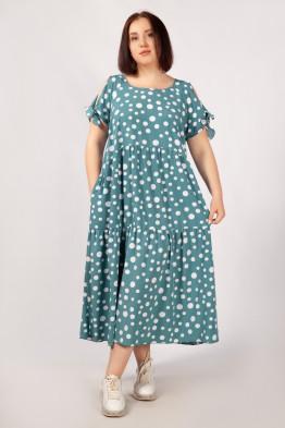 Платье Анфиса (бирюза)