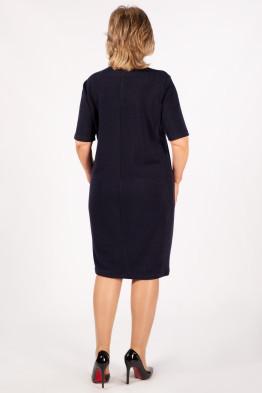 Платье Беатрис (темно-синий)