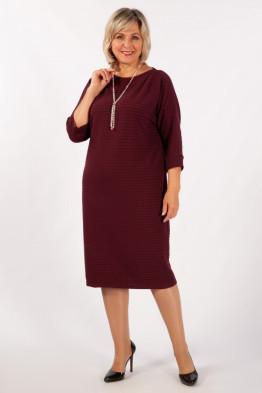 Платье Беретта (винный)
