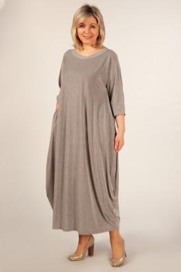 Платье Эвита (светло серый)