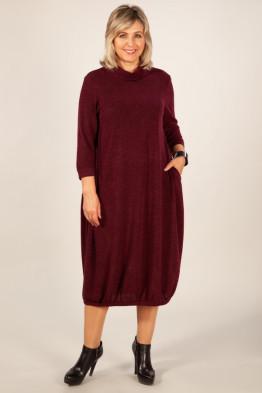 Платье Ирина (винный)