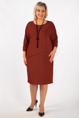 Платье Леди (красный)