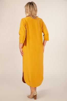 Платье Мона (горчица)