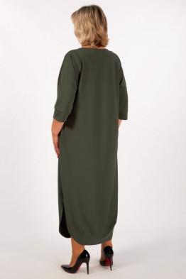 Платье Мона (хаки)
